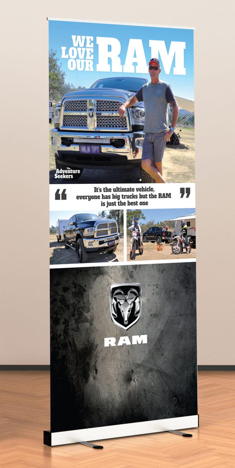 RAM Banner