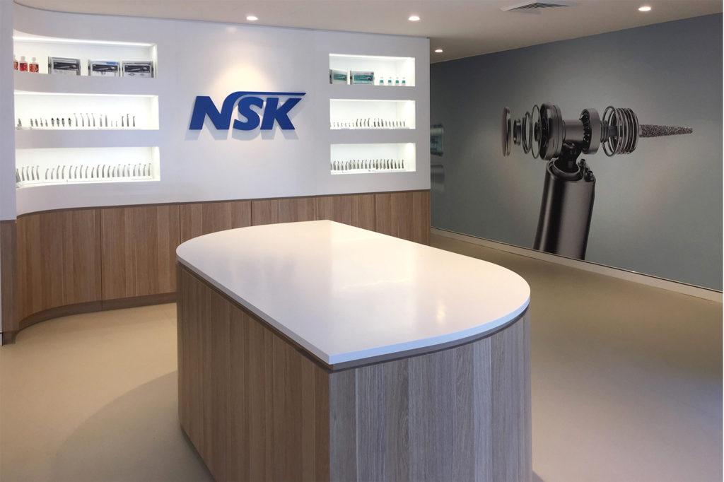 NSK signage